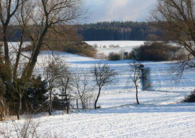 Crussow im Winter